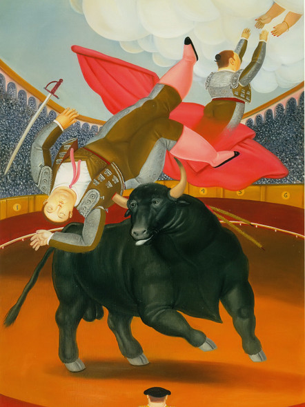 The Death Of Luis Chaleta by Botero Print