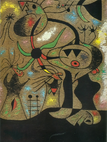 The Escape Ladder 1939 by Joan Miro Print