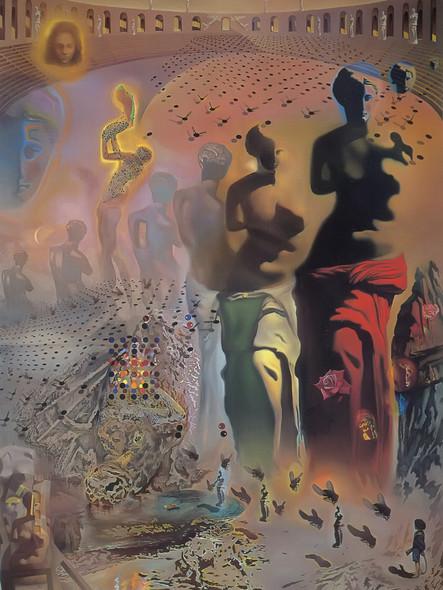 The Hallucinogenic Toreador by Dali Print