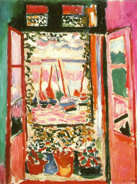 The Open Window by Henri Matisse Print