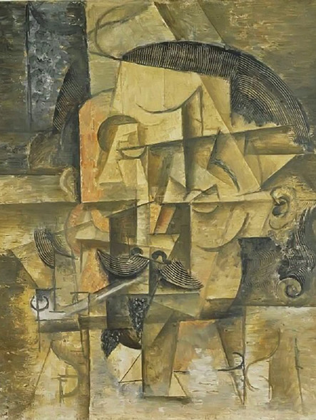 The Poet by Picasso 1 Print