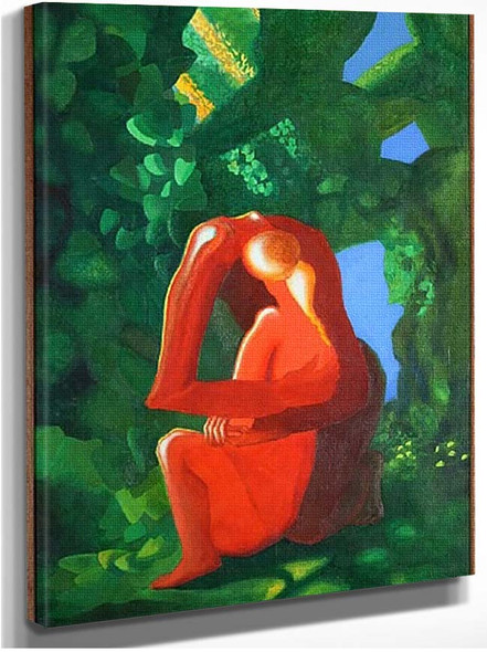 Adam Et Eve 1957 By Ozenfant Amedee