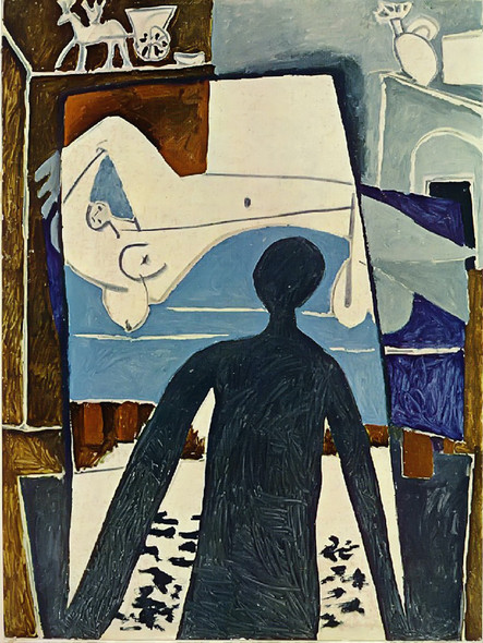 The Shadow 130x97 by Picasso Print