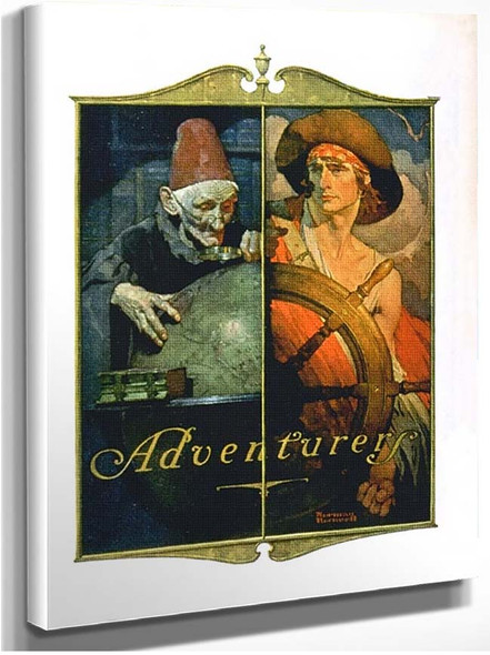 Adventure By Norman Rockwell