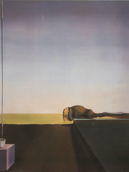 The True Painting Of The Isle Of The Dead by Salvador Dali Print