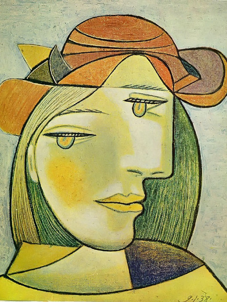 Untitled 46x38 by Picasso 1 Print