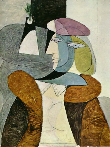 Untitled 73x60 by Picasso 1 Print