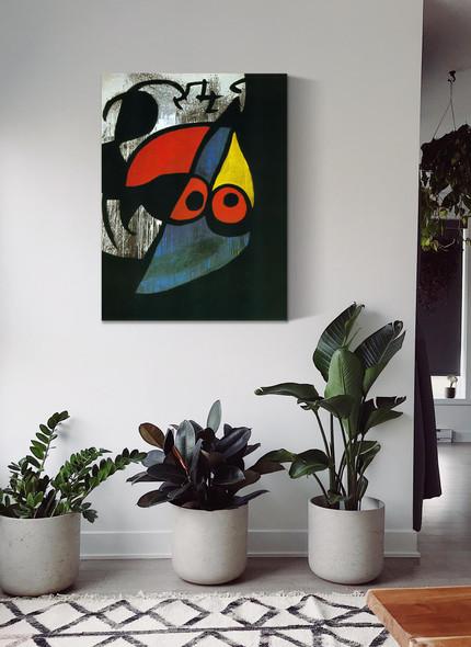 Woman Bird 1974 by Joan Miro