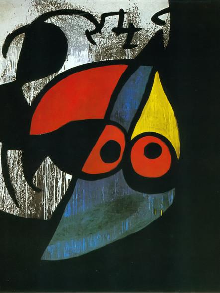 Woman Bird 1974 by Joan Miro Print