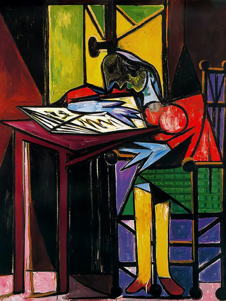 Woman Reading 1935 By Picasso
