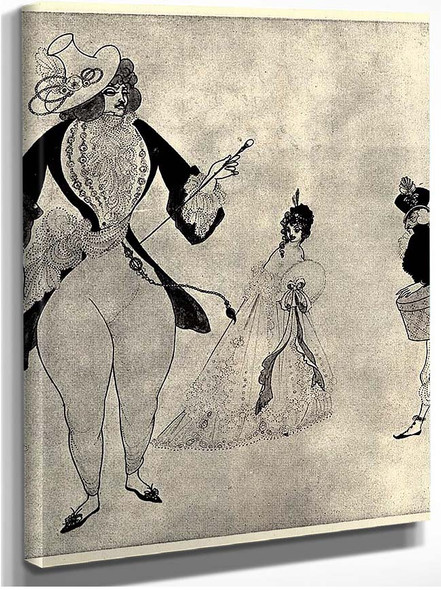 Albert In Search Of His Ideals 1897 By Aubrey Beardsley