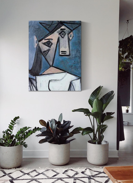Womans Head by Picasso