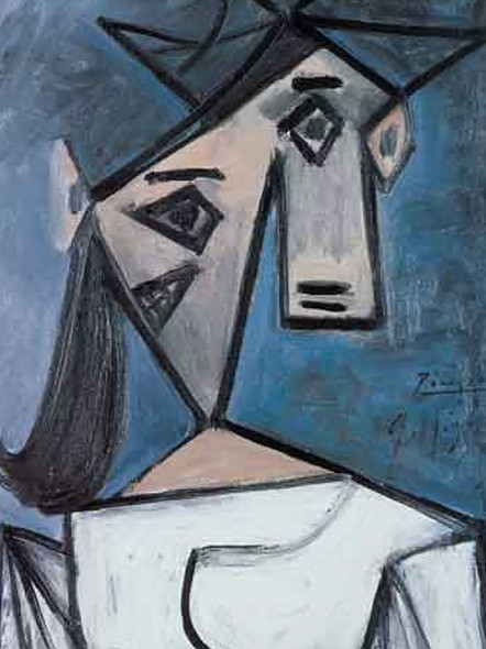 Womans Head by Picasso Print