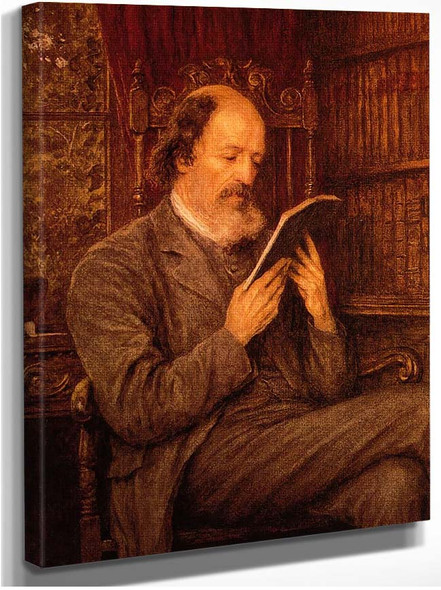 Alfred Lord Tennyson By Helen Allingham
