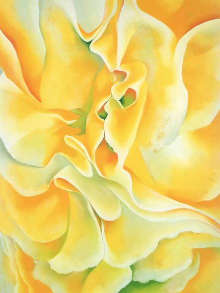 Yellow Sweet Peas by Georgia O Keeffe Print