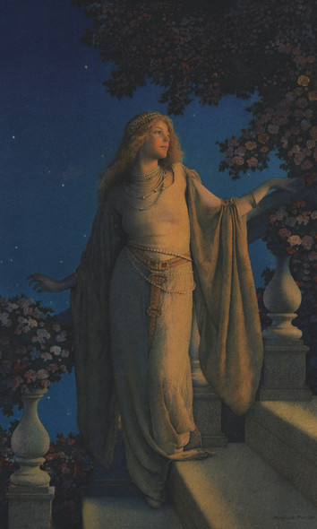 Enchantment by Maxfield Parrish Print