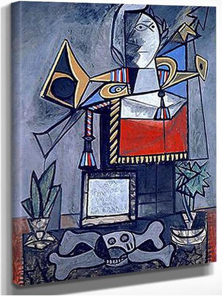 Algerian Women 1955 By Pablo Picasso