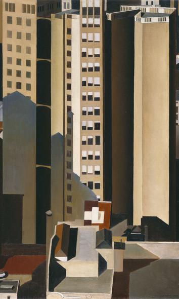 Skyscrapers by Charles Sheeler Print