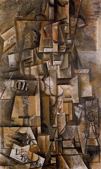 The Aficionado (The Torero) 135x82 by Picasso Print