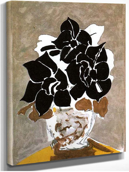 Amaryllis 1958 By Georges Braque