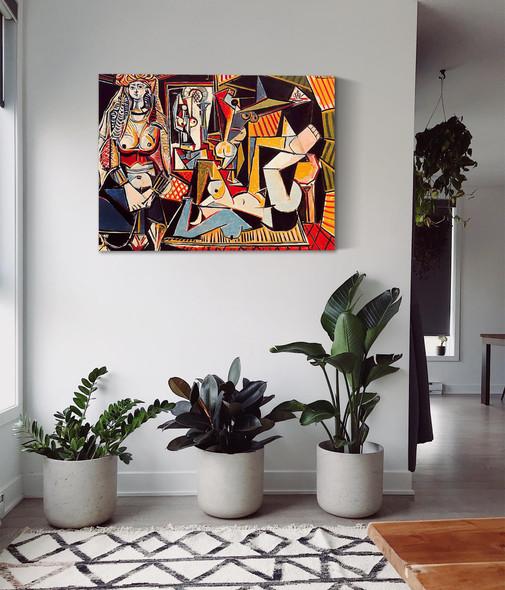 Algerian Women (Delacroix) by Picasso