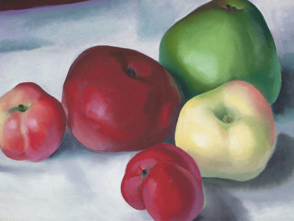 Apple Family 3 by Georgia O Keeffe Print