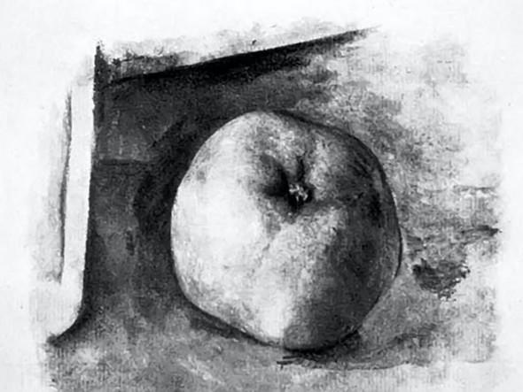 Apple by Picasso Print