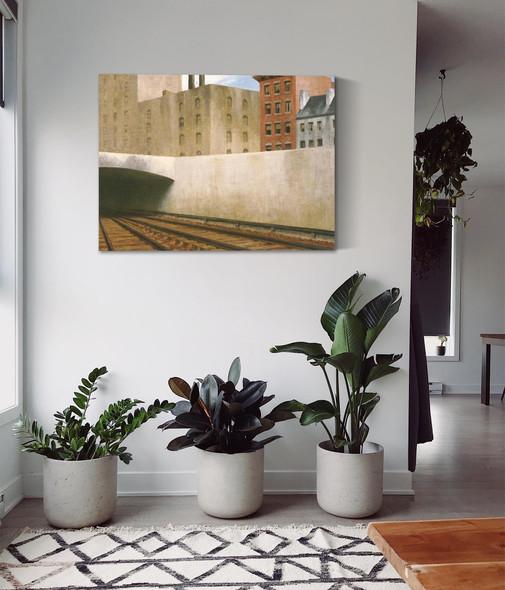 Approaching A City by Edward Hopper