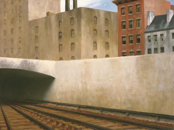 Approaching A City by Edward Hopper Print