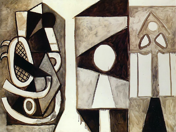 Armchair California 195x260 by Picasso Print