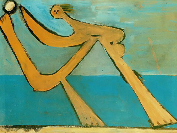 Bather 24x35 by Picasso Print