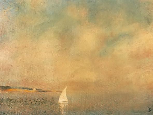 Bay At Cadques by Dali Print