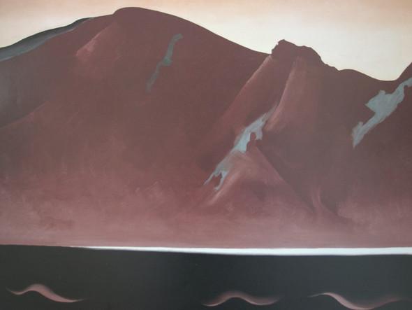 Bear Lake New Mexico by Georgia O Keeffe Print