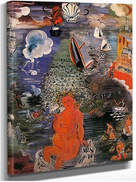 Amphitrite 1936 By Dufy Raoul