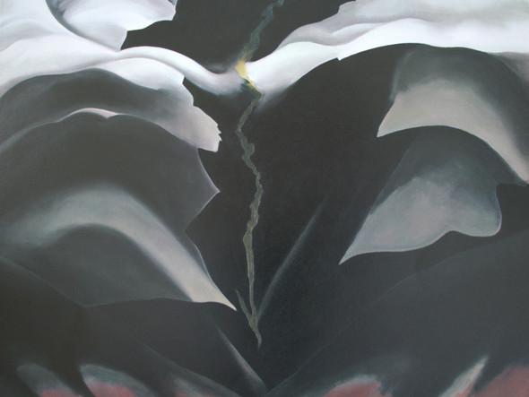 Black Place Ii by Georgia O Keeffe Print
