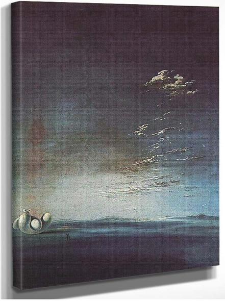 Ampurdanese Yang And Yin By Salvador Dali