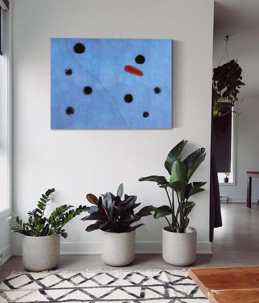 Blue I 4 3 1961 by Joan Miro