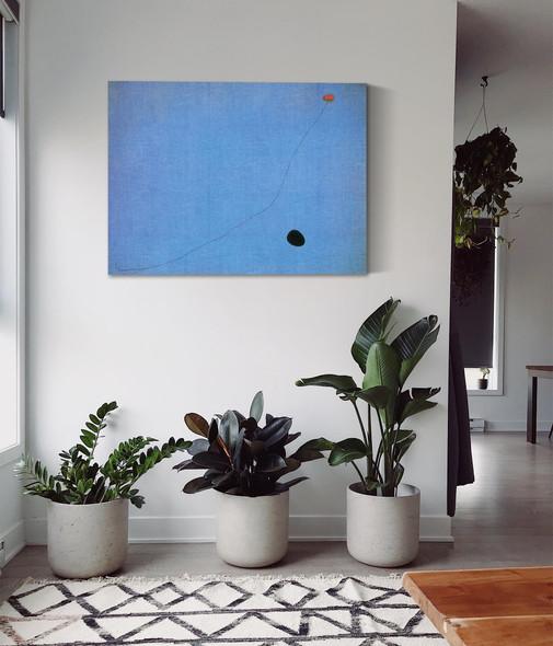 Blue Iii 4 3 1961 by Joan Miro
