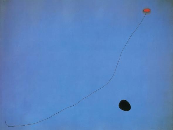 Blue Iii 4 3 1961 by Joan Miro Print