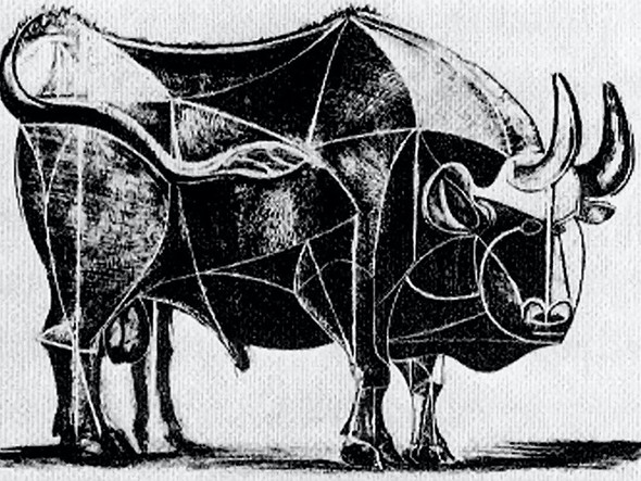 Bull (Plate Iv)museum Of Modern Art New York Usa by Picasso Print