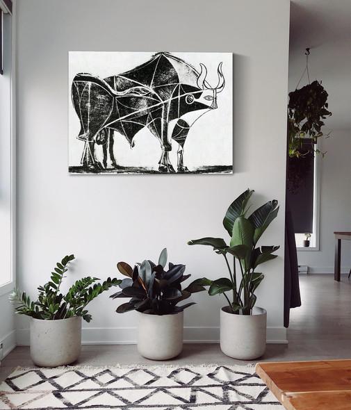 Bull (Plate V)museum Of Modern Art New York Usa by Picasso