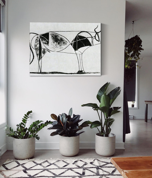 Bull (Plate Vii) 32x44staatsgalerie Stuttgart Germany by Picasso
