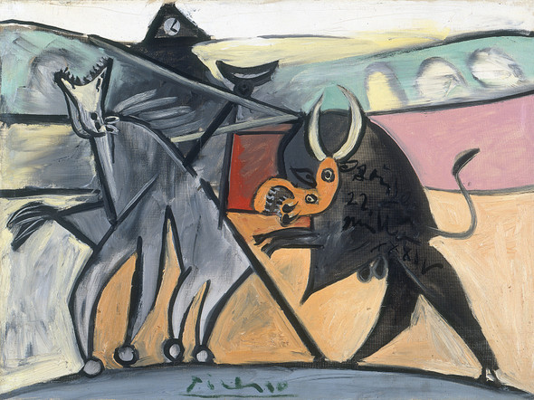 Bullfight 1934 by Pablo Picasso Print