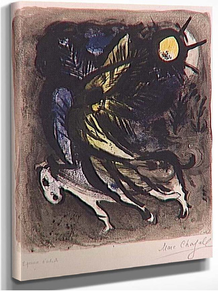 An Angel 1960 By Marc Chagall