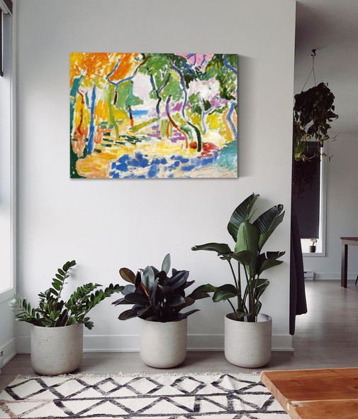 Collioure Landscape by Henri Matisse