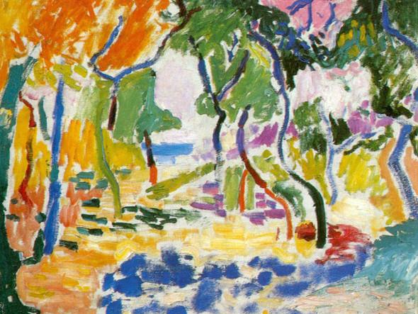 Collioure Landscape by Henri Matisse Print