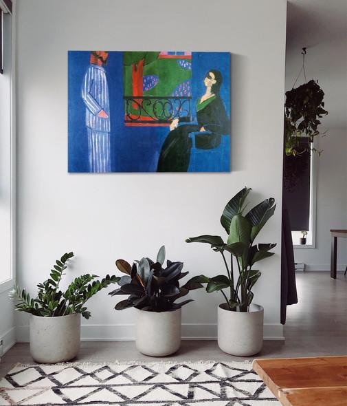 Conversation by Henri Matisse