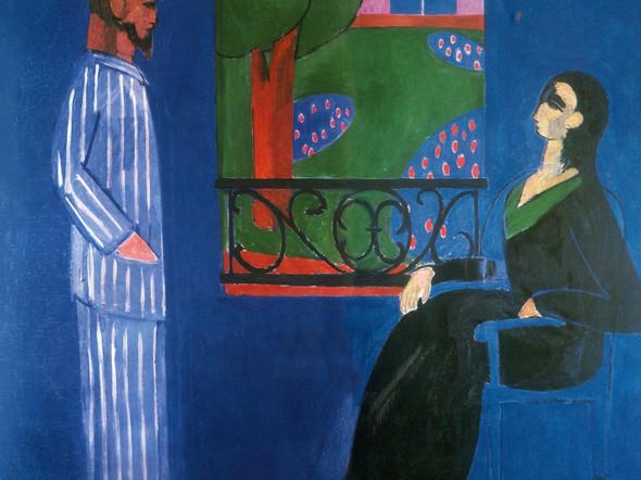 Conversation by Henri Matisse Print