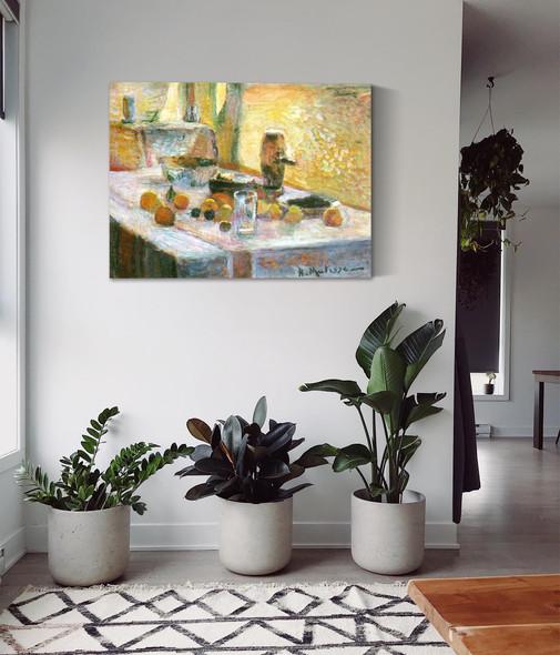 First Orange Still Life by Henri Matisse