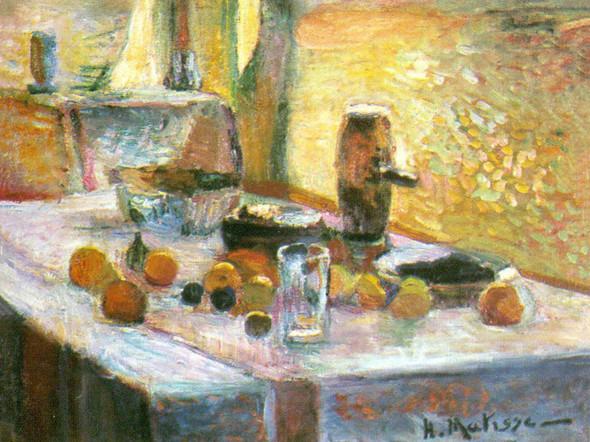 First Orange Still Life by Henri Matisse Print